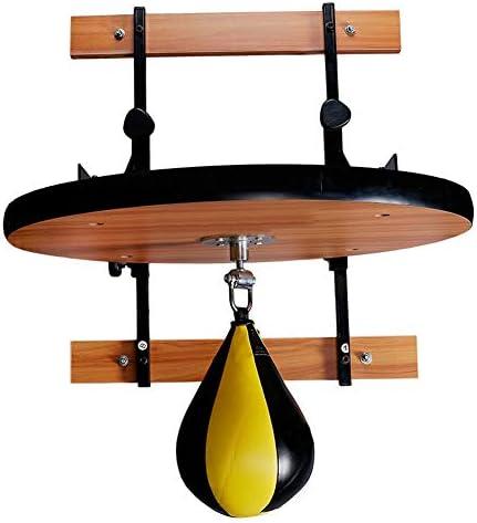 スピードパンチングバッグスタンドセット、ナシ形ボクシングインフレータブルフィットネスパンチングバッグ付き調整可能なベントボールサスペンションリアクションボールラック
