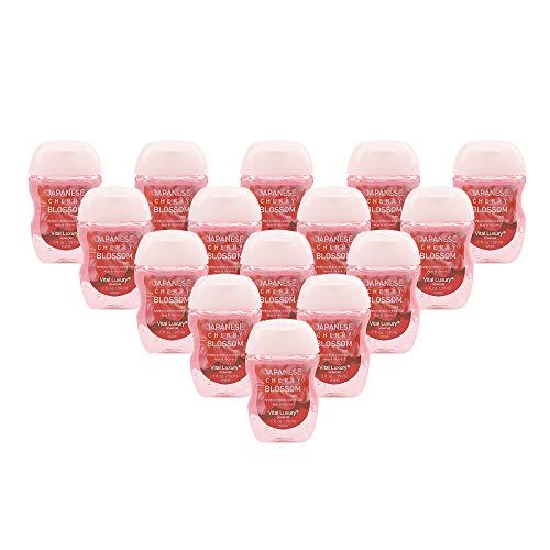 (Vital Luxury Signature - Antibacterial Hand Sanitizer-Japanese Cherry Blossom,1 Fl,Oz Each(Pack of)