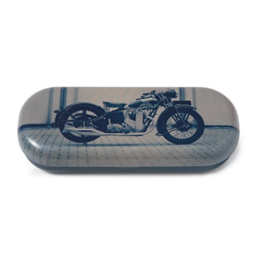 Catseye Hard Eyeglass Case, Motorcycle