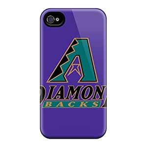 Baseball Arizona Diamondbacks Case Compatible With Iphone 4/4s/ Hot Protection Case