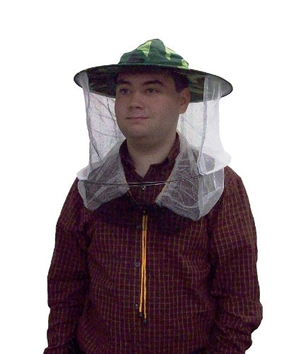 New Camo / Camouflage Beekeeper Beekeeping Hat with Veil, Mosquito Head Net by VIVO (BEE-V107C) - Bees And Wasp Stings