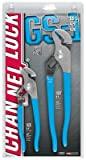 Channellock GS-1 Tongue & Groove Pliers Five Adjustment 2 Piece Set