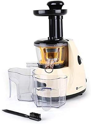 Klarstein Fruitpresso • Juicer • Vertical Slow Juicer • Stainless Steel  Micro-Strainer • Design • Juicer Extractor • Screw Press • Forward Reverse