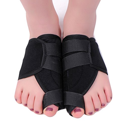 MEDIZED Quality Bunion Splint Pad Toe Hammer Separators Hallux Valgus Protector Bunion Corrector bunion Pads Toe Spacer Bunion Splint Straightener Bunion Bootie by MEDIZED (Image #6)