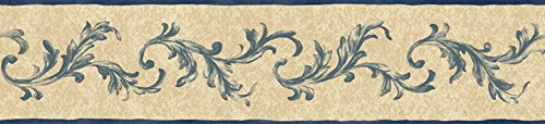 Wallpaper Blue Mountain Olive Grove Florence Scroll PL013165B (Florence Scroll)