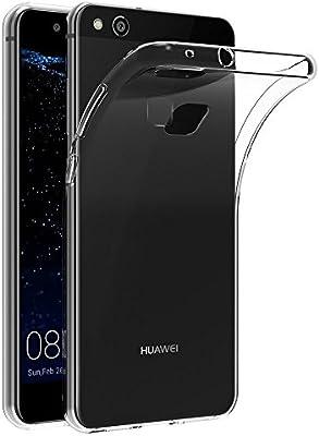 VGUARD Funda Huawei P10 Lite, Slim Fit Huawei P10 Lite Funda Carcasa Case Bumper con Absorción de Impactos y Anti-Arañazos Espalda Case Cover para Huawei P10 Lite -Transparente: Amazon.es: Electrónica