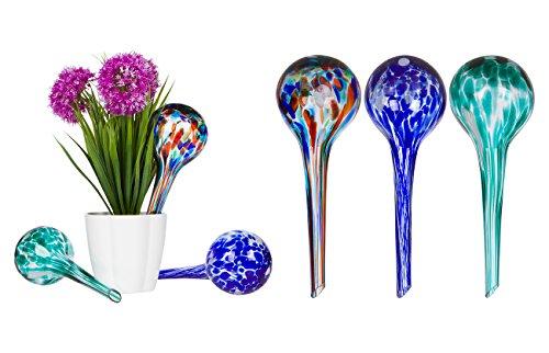 Aqua Glass Self Watering Globes