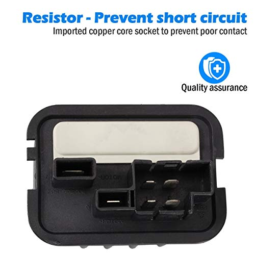 A//C Blower Motor Resistor for Saab 9-3 93 RU535 HVAC 2003-2005 90512510 Car Part