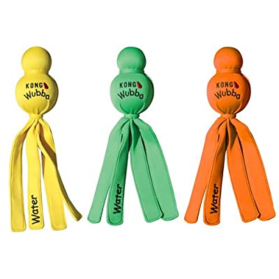 KONG Wet Wubba Dog Toy, Assorted Color