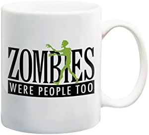 Aquarius Coffee Mug, Zombies Were People Too