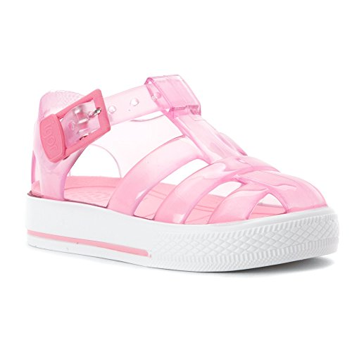 Igor Girl's Tenis Glitter Crystal Light Pink 23 EU Crystal Twenty Light
