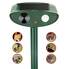 Ultrasonic Animal Repeller Outdoor