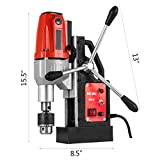 Mophorn 980W Magnetic Drill Press with 1-1/3 Inch