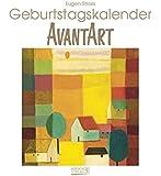 Geburtstagskalender Avant Art: Immerwährender Wandkalender. Format 22,5 x 24,5 cm.