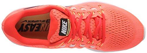 Herre Nike Zoom Luft Vomero 12 LaufSko Orange (lyse Mango / Blodrød Glans / Farve Melon Lyserød / Blå Binær 801) FRPta
