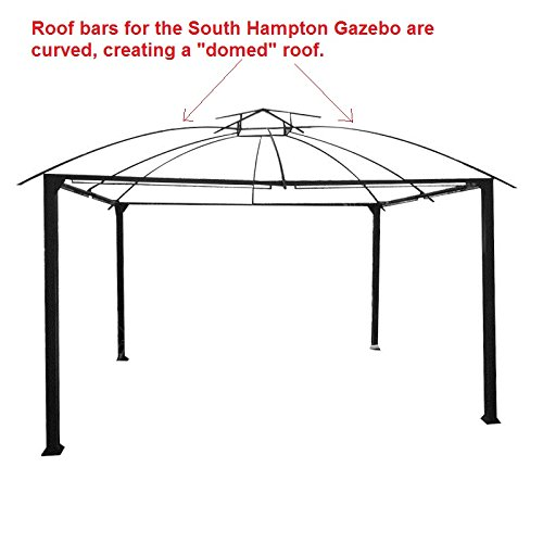 Amazon South Hampton Gazebo Replacement Canopy Garden Outdoor
