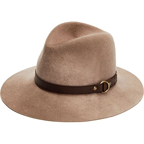 Frye Addie Hat - Women's Tan, L by FRYE