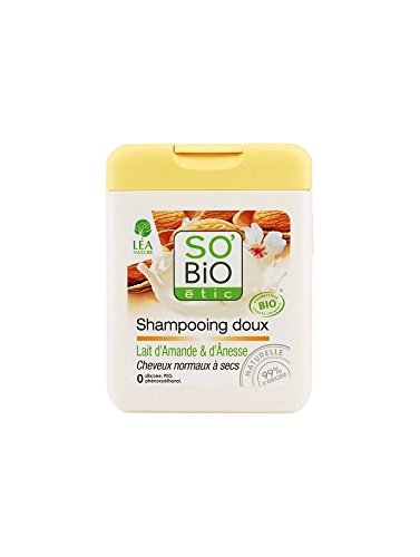 So Bio Etic Champú Suave Leche De Almendras Y Burra 250 ml