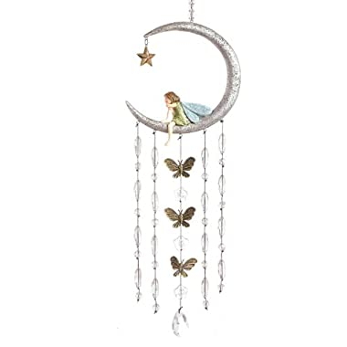 Grasslands Road Fairy in Moon Wind Chimes