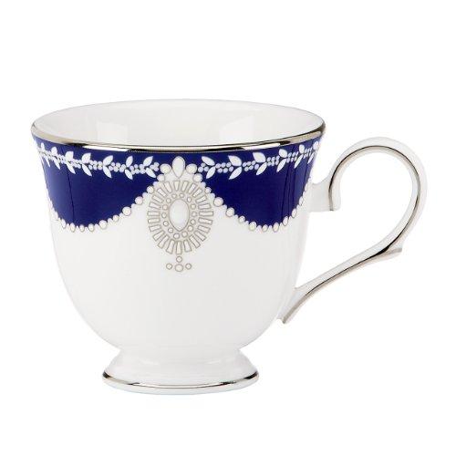 Lenox Marchesa Couture Tea Cup, Empire Pearl Indigo