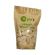 Yupik Organic Cocoa Butter Wafers, 1 kg