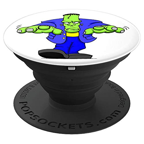 Frankenstein Happy Halloween - PopSockets Grip and Stand for Phones and Tablets