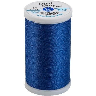 (All Purpose Polyester Corespun Thread 500 yd, Yale Blue)