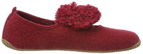 389 Kitzbühel Wollbommel De Living Estar Por Zapatillas rubin Casa Rojo Ballerina Para Mujer Mit OdwCxnCFq