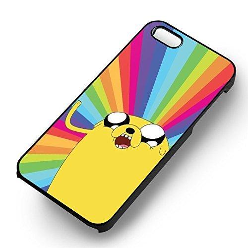 Chic Adventure Rainbow pour Coque Iphone 7 Case (Noir Boîtier en plastique dur) L5S8XI