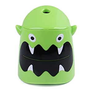 Eagle Cartoon Electric Pencil Sharpener, Battery Operated, Monster, Holiday Gift