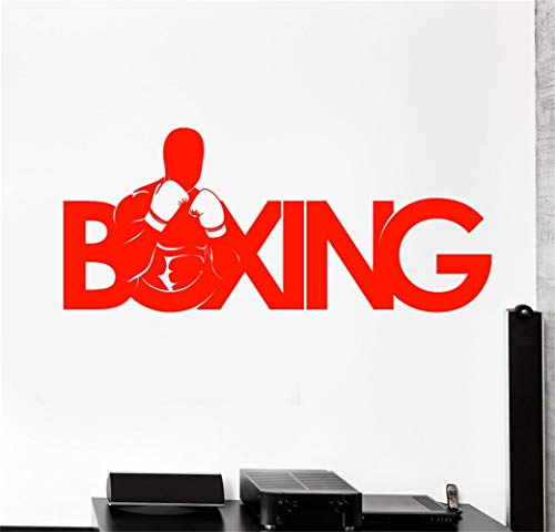 Indian Boxers (futuka Wall Decal Sticker Art Mural Home Decor Sport Boxer Boxing Gym Fighter Fight)