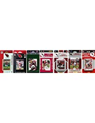 NFL Arizona Cardinals 7 Different Licensed Trading Card Team Sets