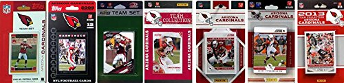 NFL Arizona Cardinals 7 Different Licensed Trading Card Team Sets (2009 Nfl Trading Cards)