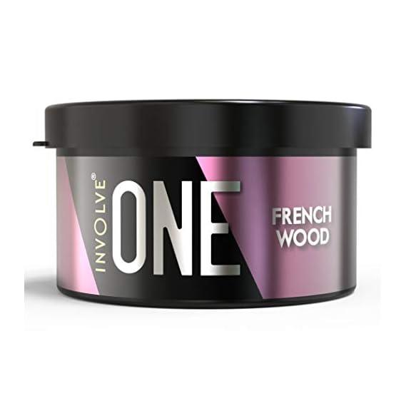 Involve Your Senses ONE Frenchwood Organic Leakproof Car Perfume Scent Fiber Car Air Freshener - IONE07