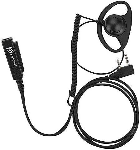 Surveillance Headset//Earpiece PTT for Wouxun KG-UVD1P PUXING PX888 PX777 Plus