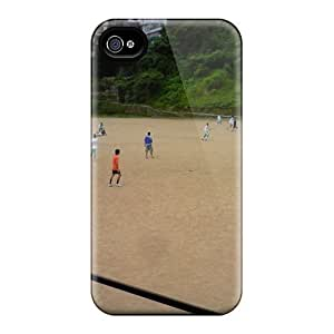 Anti-scratch And Shatterproof Our Best Ground Phone Case For Iphone 4/4s/ High Quality Tpu Case
