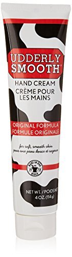 Udderly Smooth Hand Cream 4 oz (Pack of 5)