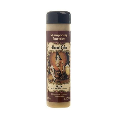 Dark Brown Henne Natural Henna Hair Shampoo