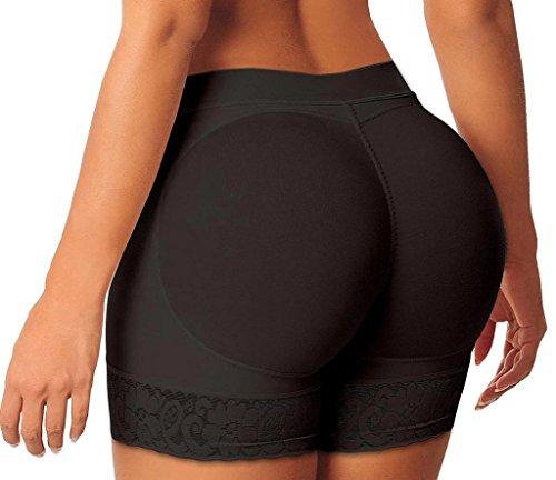 BeautyIn Women's Butt Lifter Shaper Padded Control Panties Enhancer Underwear