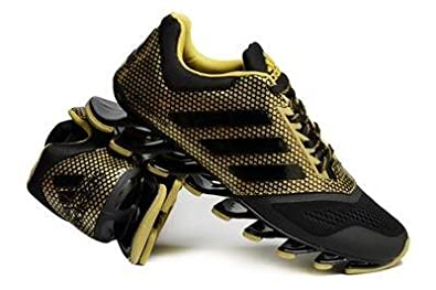 super popular 65f0c 804ef AD Springblade Drive 2.0 black gold sport Shoes for men Tênis Adidas ...