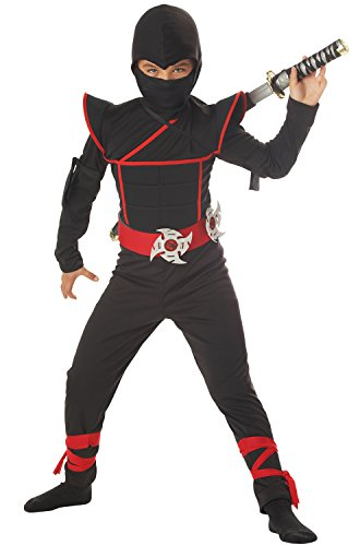 California Halloween Costumes (California Costumes Toys Stealth Ninja, Small)