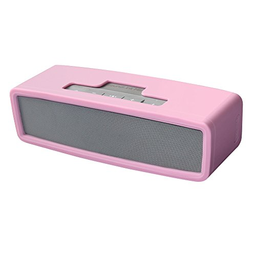 Soundlink Mini Case, Soft Travel Carrying Case Silicone Protective Cover for Soundlink Mini 2/ Mini Wireless Bluetooth Speaker (Pink)