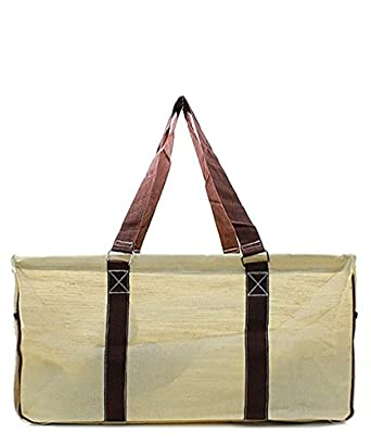 Amazon.com | Khaki All Purpose Large Wire Frame Collapsible ...