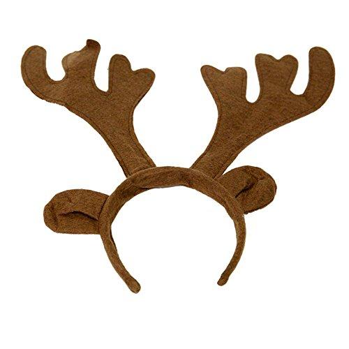 Century Novelty Felt Reindeer Antlers (Felt Antlers Reindeer)