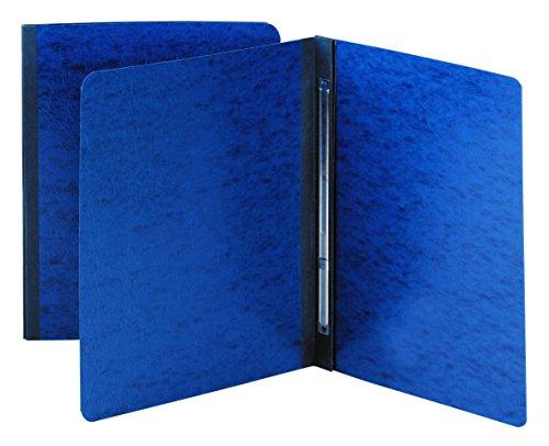 Smead PressGuard Report Cover, Metal Prong Side Fastener with Compressor, 3 Capacity, Letter Size, Dark Blue, 25 per Box (81352)