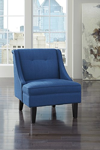 Ashley Clarinda Fabric Accent Chair in Blue