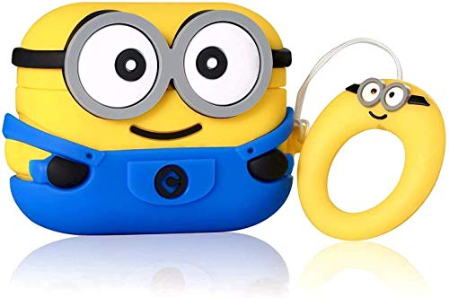 Indian Eagle AirPod/iPod Pro Silicone Case Cover Only for Apple AirPod Pro (Minion-pro)