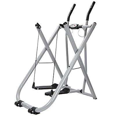 XtremepowerUS Elliptical Trainer, Fitness Glider
