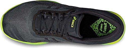 asics Fuzex Rush - Zapatillas para correr - verde/negro Talla EU 47 (US 12,5) 2017