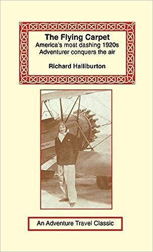 Flying Carpet Richard Halliburton 9781590482711 Amazon Books